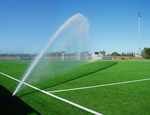 Zavlažovanie futbalového ihriska