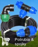 Potrubia a spojky pre zavlažovacie systémy